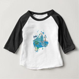 vintage dubai us e design baby T-Shirt
