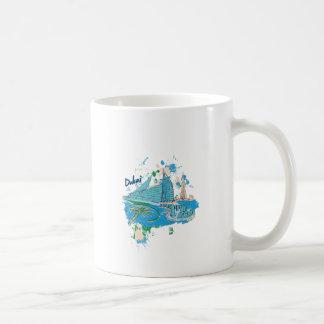 vintage dubai us e design coffee mug