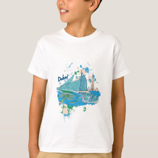 vintage dubai us e design T-Shirt