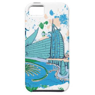 vintage dubai us e design tough iPhone 5 case