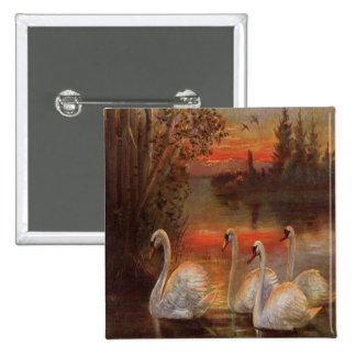 Vintage Ducks on The Lake Pins