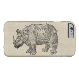 Vintage Durer Rhino Barely There iPhone 6 Case
