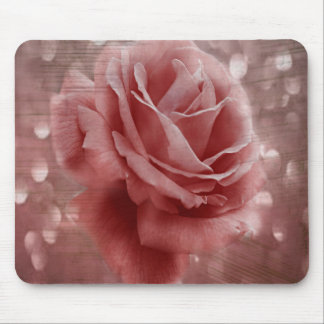 Vintage Dusty Rose Mouse Pad