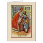 Vintage Dutch St. Nicholas Greeting Card