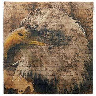 Vintage Eagle Napkin