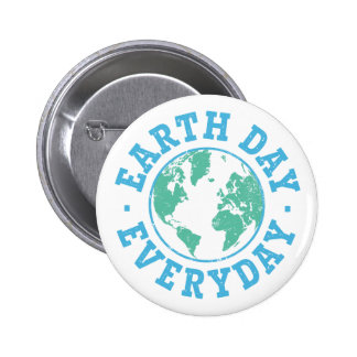 Vintage Earth Day Everyday Buttons