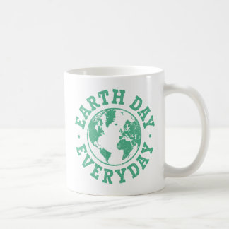 Vintage Earth Day Everyday Mugs