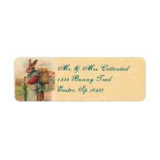Vintage Easter Address Labels