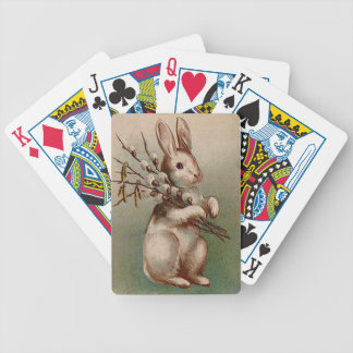 Vintage : easter - bicycle playing cards