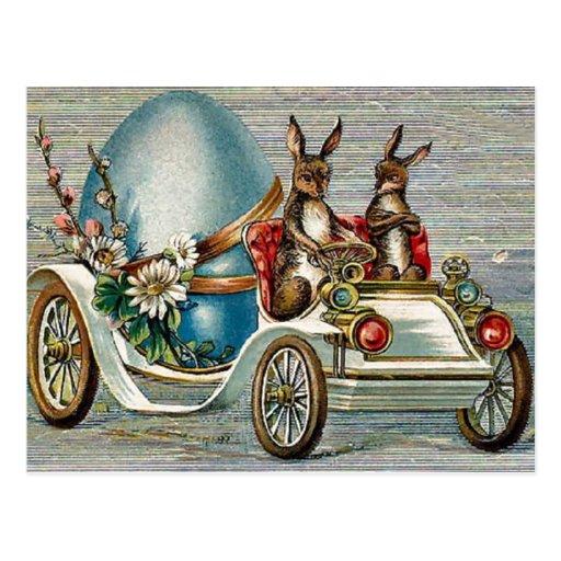 Vintage Easter Bunnies Postcards