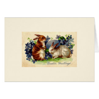 Vintage Easter Bunny Greeting Cards