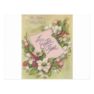 "Vintage Easter Darling ""Mario"" Postcard"