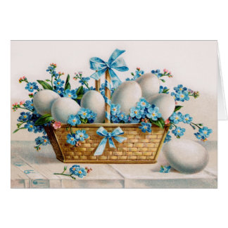 Vintage Easter Egg Greeting Card