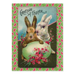 Vintage Easter Greeting Card Post Card