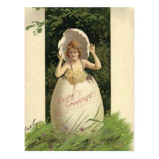 Vintage Easter Holiday Art Postcard