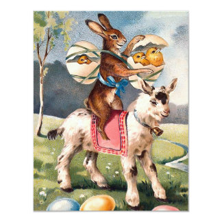 Vintage Easter Invitation