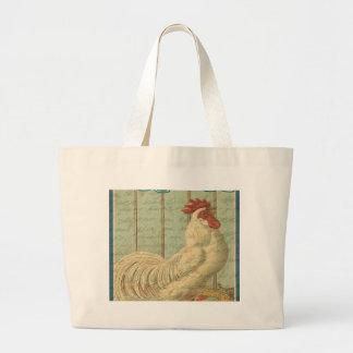 Vintage Easter Large Tote Bag