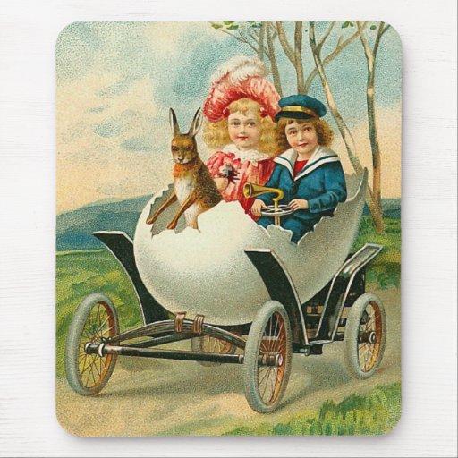 Vintage Easter Mousepad