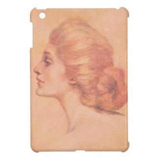 Vintage Edwardian Woman Delineator Cover Gibbs iPad Mini Covers