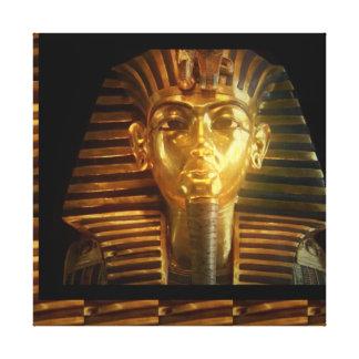 Vintage Egyptian Temple Gods Kings Idols PYRAMID Canvas Prints