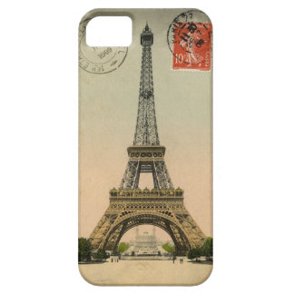 Vintage Eiffel Tower Barely There iPhone 5 Case