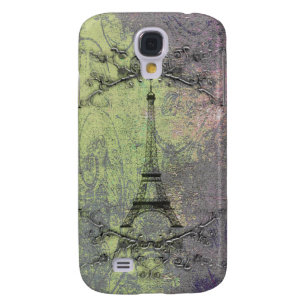 Vintage Eiffel Tower Galaxy S4 Cover