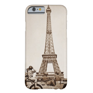 Vintage Eiffel Tower in Paris viewed by Soldiers Barely There iPhone 6 Case