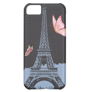 Vintage Eiffel Tower iPhone 5C Case