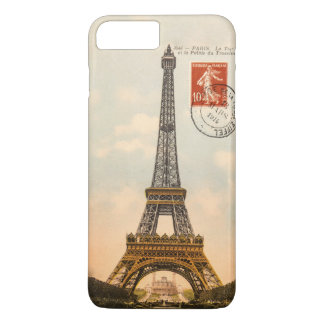 Vintage Eiffel Tower iPhone 7 Plus Case