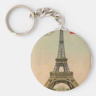Vintage Eiffel Tower Key Chain