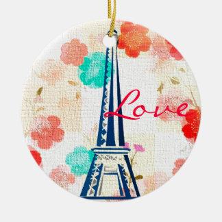 Vintage Eiffel Tower-Paris Ornament