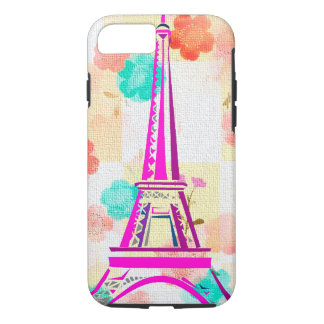 Vintage Eiffel Tower- Paris iPhone 7 Case