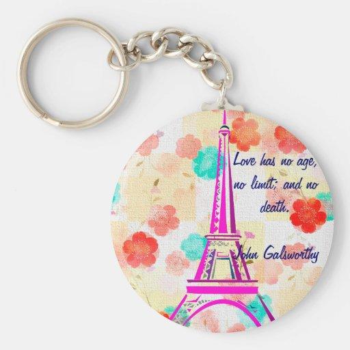 Vintage Eiffel Tower- Paris Keychains