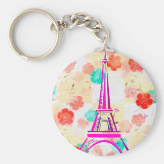 Vintage Eiffel Tower- Paris Key Chain