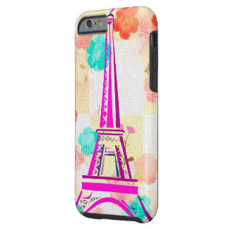 Vintage Eiffel Tower- Paris Tough iPhone 6 Case