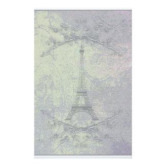 Vintage Eiffel Tower Personalised Stationery