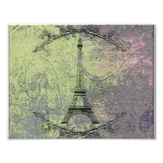 Vintage Eiffel Tower Photo Print
