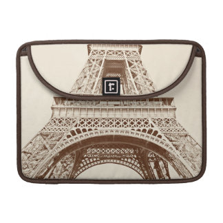 Vintage Eiffel Tower Sleeve For MacBooks