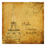 Vintage Eiffel Tower+swirls/DIY fonts