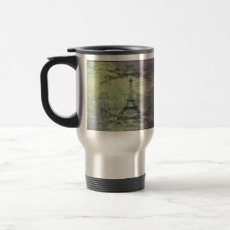 Vintage Eiffel Tower Travel Mug