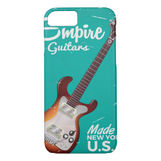 Vintage electronic guitar commercial iPhone 7 case