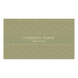 Vintage Elegance 2 Double-Sided Standard Business Cards (Pack Of 100)