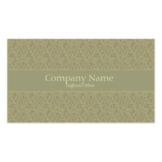 Vintage Elegance 2 Pack Of Standard Business Cards