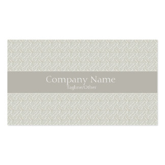 Vintage Elegance Business Card Template