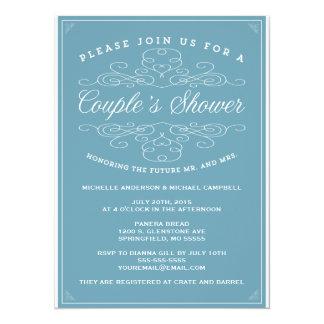 Vintage Elegance | Couple's Shower Invitation