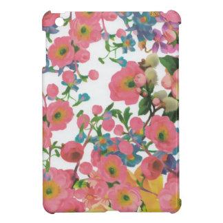 vintage elegant flowers floral theme pattern iPad mini case