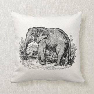 Vintage Elephant Personalized Elephants Animals Cushion