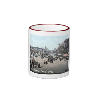 Vintage England  Carlisle  1890's Coffee Mug