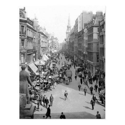 Vintage England, Cheapside, City of London Postcards