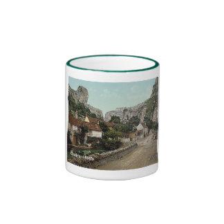 Vintage England  Cheddar 1890's Coffee Mugs